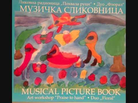 Willy Hess–Dance of Fairies (from Drei Tonstucke)-Milena Stanisic (harp) & Stana Krstajic (flute)