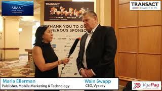 2019 TRANSACT interview: Wain Swapp, Vyapay