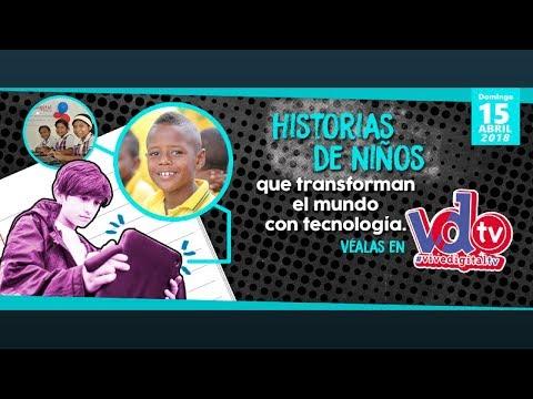 Historias de niños que transforman el mundo con tecnología | C15 #ViveDigitalTV