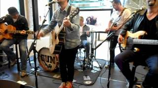 GUN : Live at the Apple Store Glasgow -  Steal Your Fire