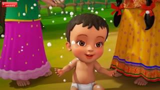 Aadukundaam Rarandi | Telugu Rhymes for Children | Infobells