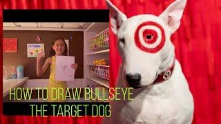 How to Draw Bullseye The Target Dog | Mini Bull Terrier