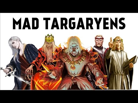 ALL OF THE MAD TARGARYENS (Game of Thrones)