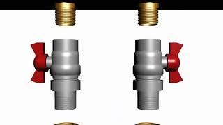 ОТОПЛЕНИЕ ДОМА: МОНТАЖ  Металлопластик  Подключение котла к магистральным трубам