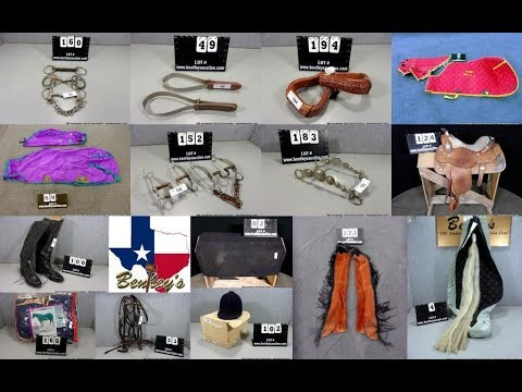 999 Equestrian Equipment, Horse Tack & Saddles Online Auction