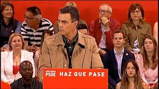 """Sánchez rechaza """"el insulto y la crispación"""""""