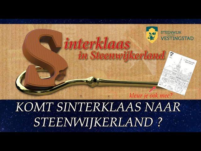 Sinterklaas verhaal Steenwijkerland 2020