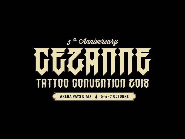Convention Tattoo Cezanne tattoo convention 2018 - Aix en Provence