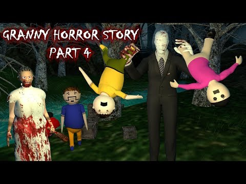 Android Game - Granny Horror Story Part 4 (Animated In Hindi) Make Joke Horror