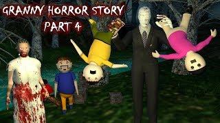 Android Games - Granny Horror Story Part 4   Animated Cartoon For Kids   Make Joke Horror