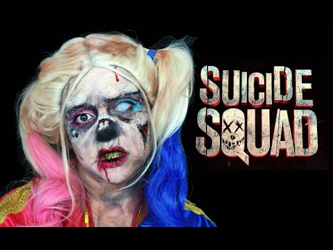 ZOMBIE HARLEY QUINN SUICIDE SQUAD MAKEUP TUTORIAL!