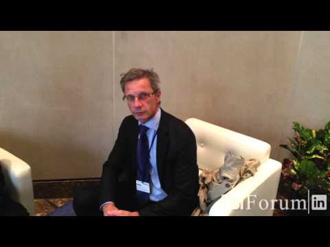 Interview with Boris Vujcic, governor of croatian national bank, at IMF 2013