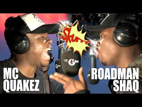 Roadman Shaq 'Man's Not Hot'  MC Quakez Freestyle - Fire In The Booth