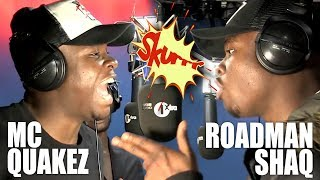 Roadman Shaq 'Mans Not Hot' Freestyle - FULL Fire In The Booth