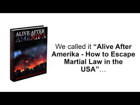 Alive After Amerika - Escape Martial Law von Amerika First Review