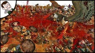 MASSIVE MORE GORE SURVIVAL! Total War WARHAMMER Mod Gameplay