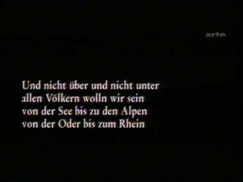 Hanns Eisler singt die Kinderhymne von Bertolt Brecht