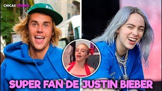 Baixar BILLIE EILISH MUESTRA lo SUPER FAN que es de JUSTIN BIEBER en el LANZAMIENTO del REMIX de BAD GUY