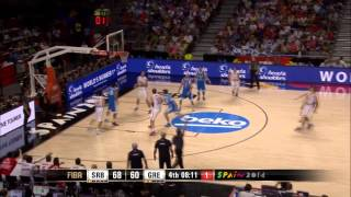 Serbia basketball 2014