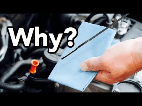 How to Check your Engine Oil Level - How Do You Read an Oil Dipstick - Bundys Garage