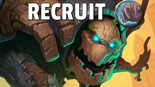 Hearthstone - The Recruit Druid