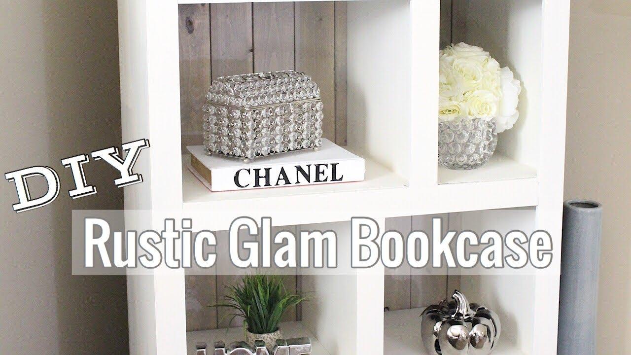 DIY Rustic Bookcase Plus Styling Haul