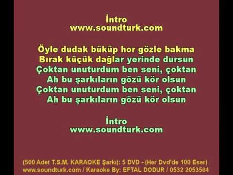 500 - T.S.M KARAOKE - Ah Bu Şarkıların Gözü Kör Olsun - Emel Sayın