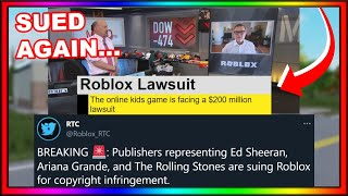 Roblox Is Getting SUED *Again* For $200 MILLION...