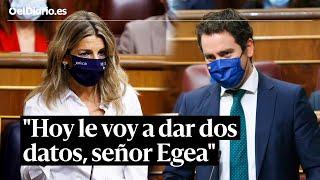 Sesión de control: Yolanda Díaz echa en cara al PP