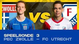 EDIVISIE | Speelronde 3: PEC Zwolle - FC Utrecht