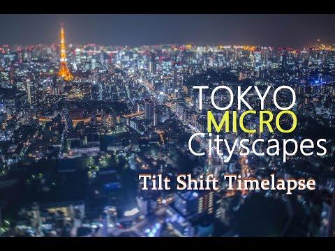Tokyo Micro City Tilt Shift Timelapse 4K タイムラプス