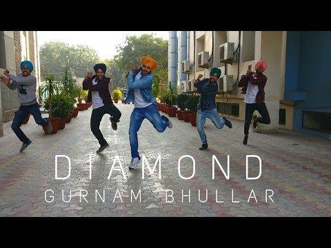 #ghaintBhangra || Diamond (Full HD) || Gurnam Bhullar || Bhangra Video || @ashkeBhangra