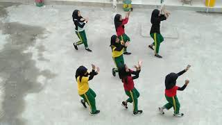 Senam Kreasi || DJ Remix Rasasayange || SMP Islam Al Hasanah Depok