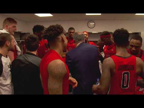 The Journey - Rutgers celebrates 1st round win