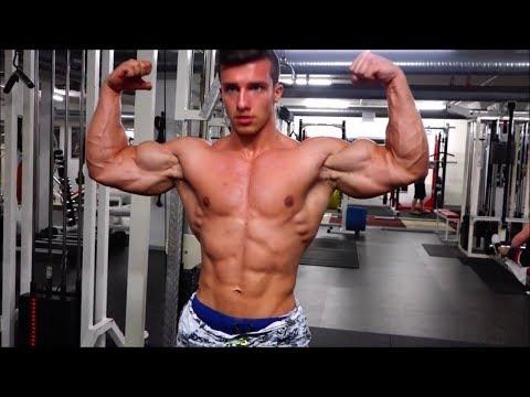 Teen Bodybuilder Tim Gabel | Fitnessmodel amazing biceps