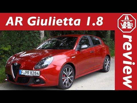2017 Alfa Romeo Giulietta 1.8 TBi 16V MultiAir - In-Depth Review, Full Test, Test Drive