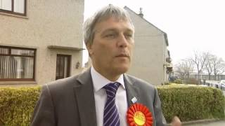 Labour Donside byelection candidate interviewed on STV .