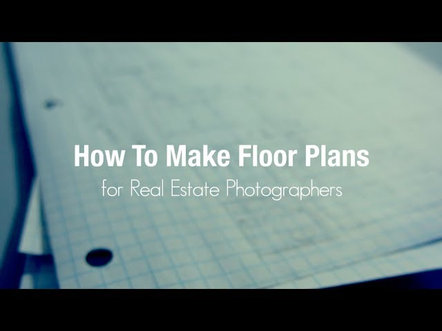 How To Floor Plans For Real Estate Youtube