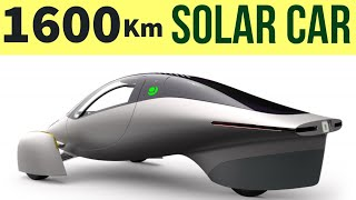1600 km Range No Charge Solar Electric Vehicle - Aptera EV