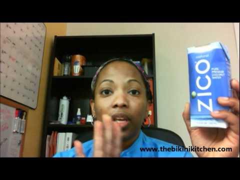 Zico Coconut Water - The Bikini Kitchen - Joyce Ni