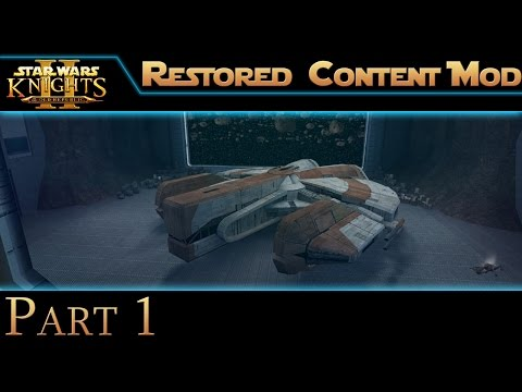 Star Wars: Knights of the Old Republic II - Part 1