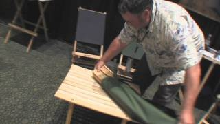 Blue Ridge Chair Works Product News Report With Billy Carmen From Outdoor Retailer Gadget
