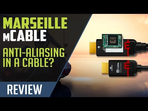 Marseille mCable Gaming Edition - Remove Aliasing with an HDMI Cable!