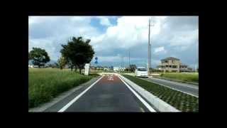 【アーカイブス映像】かつて滋賀守山立田町あった信号機のいらない環状交差点ラウンドバウト2015.05~運用 タイムラプス