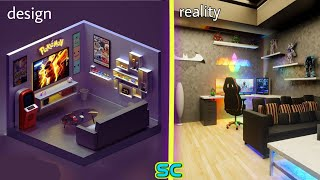 Small Room Design Ideas Gaming Room Set Up Idea Part 5 Youtube