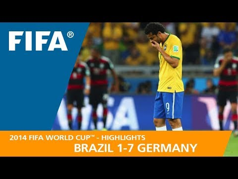 BRAZIL v GERMANY 1:7  2014 FIFA World Cup™