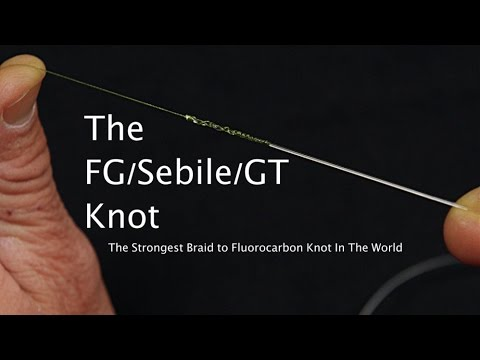 Strongest Braid To Fluoro Knot Fg Knot Sebile Knot Gt Knot Delph Knot Saltwater Experience