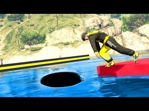 FUNNY WATER PARKOUR