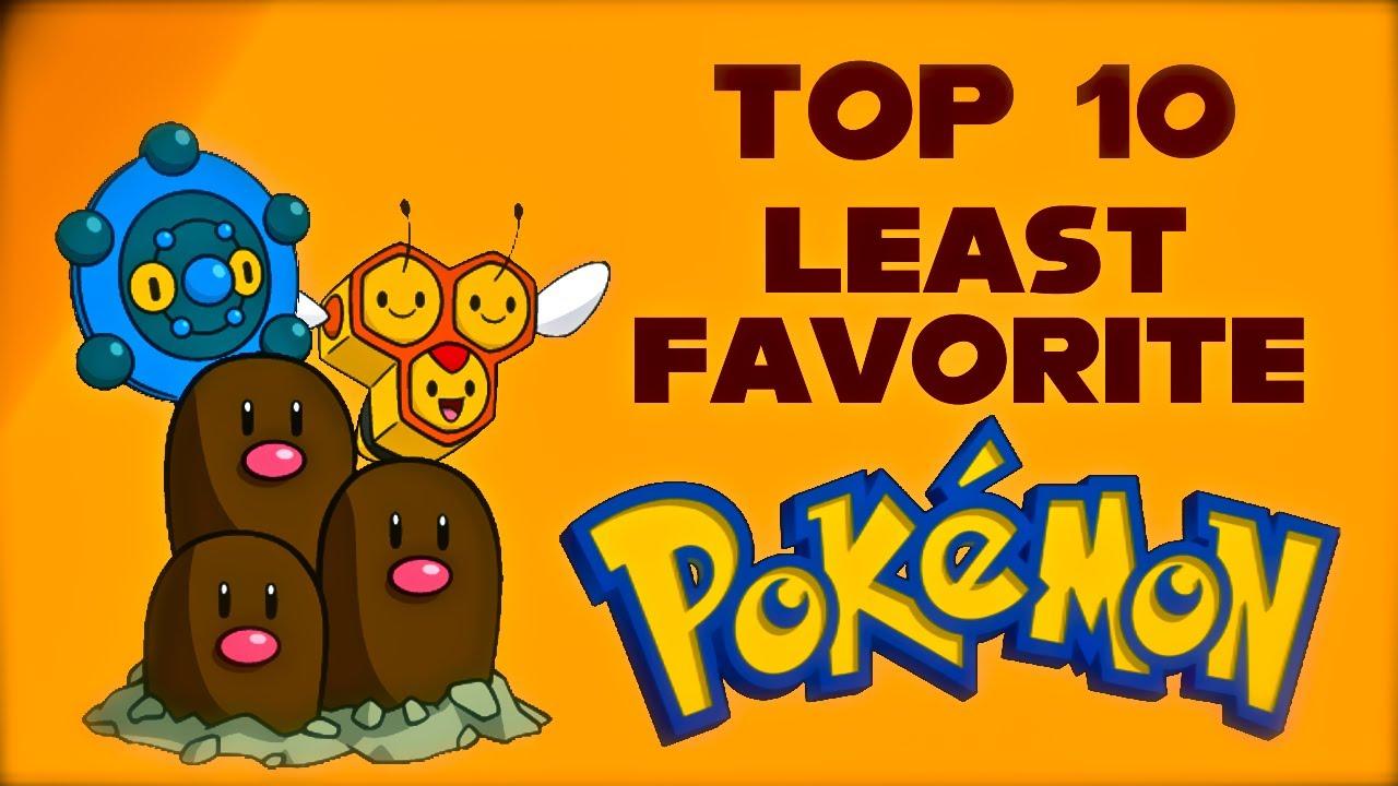 Least Favorite Pokemon