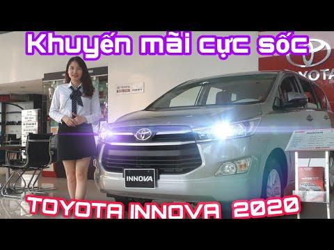 ✅Toyota Innova 2020/ Hỗ Trợ Phí Trước Bạ Lên đến 55 Triệu đồng